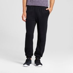 NWT Men's Black Fleece Activewear Sweat Pants